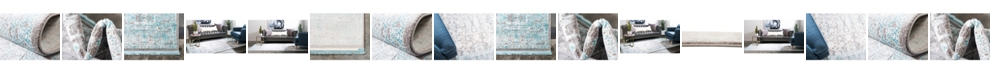Bridgeport Home Norston Nor3 Blue Area Rug Collection