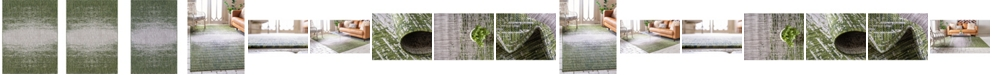 Bridgeport Home Pashio Pas7 Green Area Rug Collection