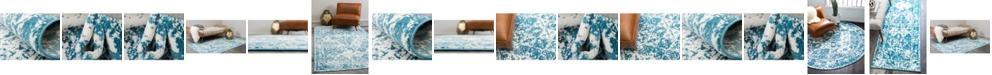 Bridgeport Home Mishti Mis2 Blue Area Rug Collection
