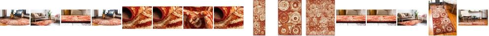 Bridgeport Home Jasia Jas02 Terracotta Area Rug Collection