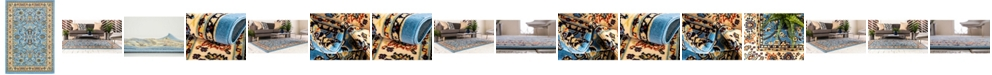 Bridgeport Home Arnav Arn1 Light Blue Area Rug Collection