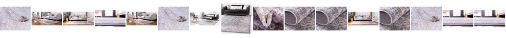Bridgeport Home Anika Ani2 Gray Area Rug Collection