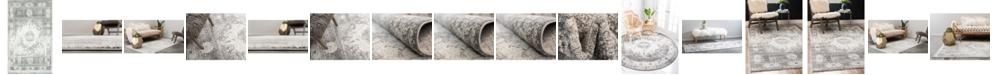 Bridgeport Home Mishti Mis4 Gray Area Rug Collection