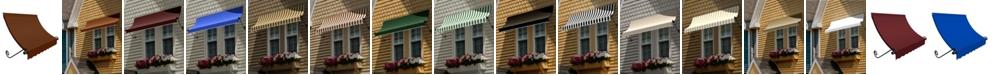 "Awntech 4' Charleston Window/Entry Awning, 24"" H x 36"" D"