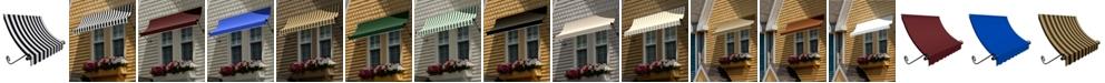 "Awntech 6' Charleston Window/Entry Awning, 31"" H x 24"" D"