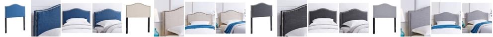 Dwell Home Inc. Amanda Upholstered Twin Headboard, Twin
