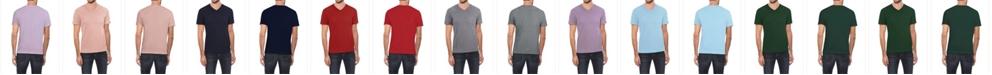 X-Ray Men's Soft Stretch V-Neck T-Shirt