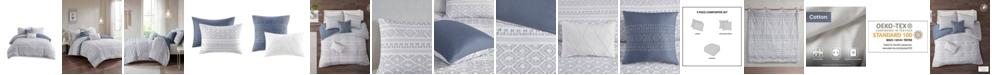 Urban Habitat Lizbeth King/California King Cotton Clip Jacquard Comforter, Set of 5
