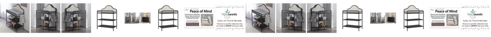 Little Seeds Piper Metal Changing Table