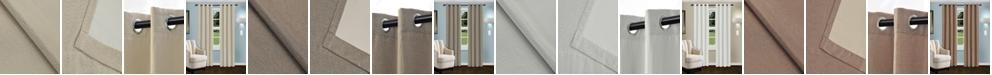 "Superior Linen Textured Blackout Curtain, Set of 2, 52"" x 84"""