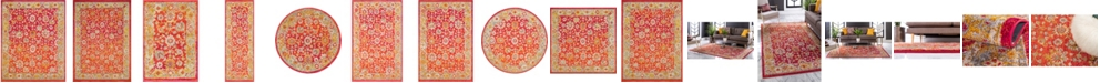 Bridgeport Home Lorem Lor3 Red Area Rug Collection