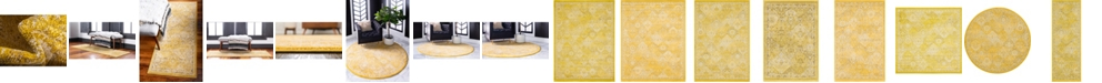 Bridgeport Home Lorem Lor2 Yellow Area Rug Collection
