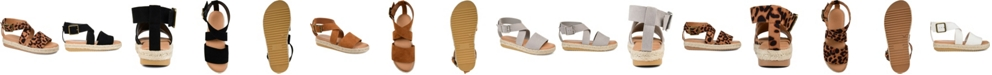 Journee Collection Women's  Trinity Espadrille Sandals
