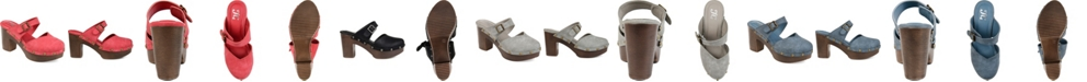 Journee Collection Women's Saige Clogs
