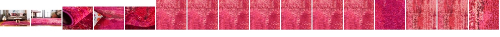Bridgeport Home Adah Ada2 Pink Area Rug Collection