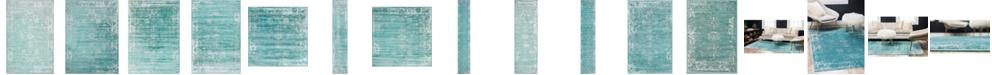 Bridgeport Home Basha Bas1 Turquoise Area Rug Collection