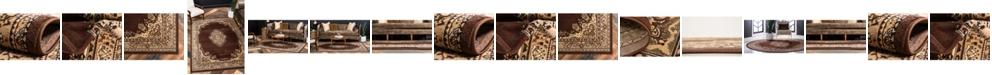 Global Rug Designs Global Rug Design Birsu Bir1 Brown Area Rug Collection
