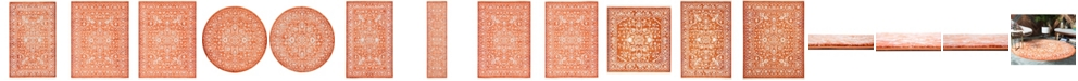 Bridgeport Home Norston Nor1 Terracotta Area Rug Collection