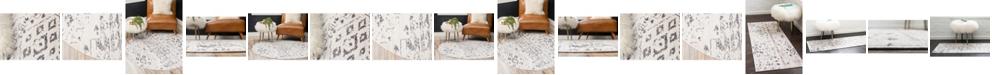 Bridgeport Home Nira Nir2 Ivory/Gray Area Rug Collection