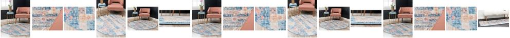 Bridgeport Home Nira Nir4 Blue Area Rug Collection