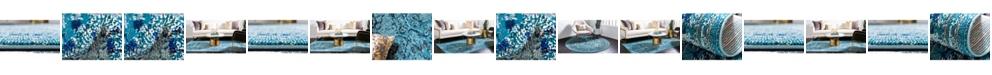 Bridgeport Home Sana San4 Light Blue Area Rug Collection