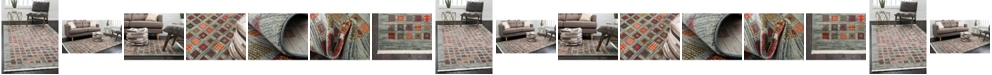 Bridgeport Home Ojas Oja6 Light Blue Area Rug Collection