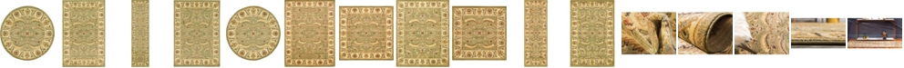 Bridgeport Home Passage Psg1 Green Area Rug Collection
