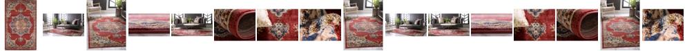 Bridgeport Home Shangri Shg3 Burgundy Area Rug Collection