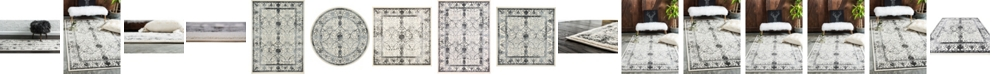 Bridgeport Home Aldrose Ald6 Gray Area Rug Collection