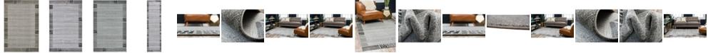 Bridgeport Home Lyon Lyo1 Light Gray Area Rug Collection