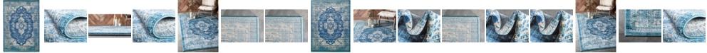 Bridgeport Home Masha Mas8 Navy Blue Area Rug Collection
