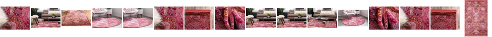 Bridgeport Home Kenna Ken4 Pink Area Rug Collection