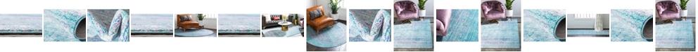 Bridgeport Home Malin Mal8 Light Blue Area Rug Collection