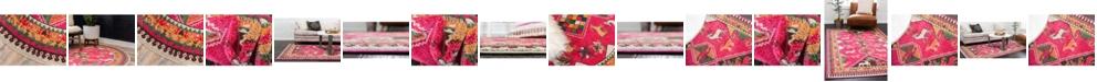 Bridgeport Home Arcata Arc7 Pink Area Rug Collection