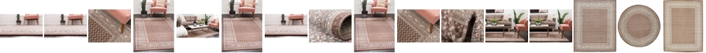 Bridgeport Home Axbridge Axb1 Brown Area Rug Collection