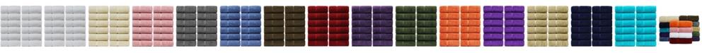 BC Bare Cotton Luxury Hotel Spa Towel Turkish Cotton Wash Cloths, Set of 12