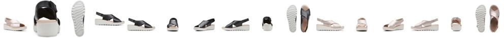 Clarks Collection Women's Jillian Jewel Wedge Sandals