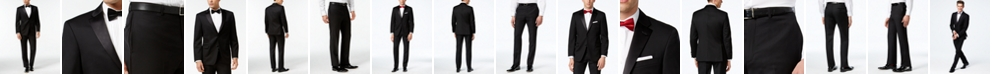 Tommy Hilfiger Black Classic-Fit Tuxedo Suit Separates