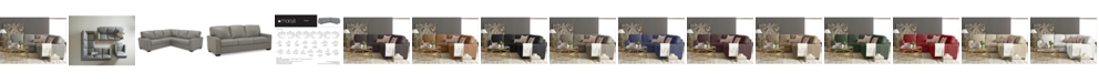 Furniture Ennia Leather Sectional And Sofa Collection, Created for Macy's