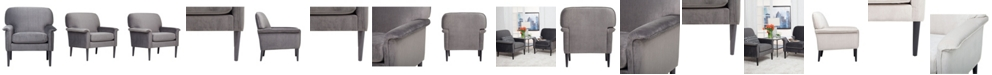 Clickhere2shop Mansard Arm Chair - Charcoal