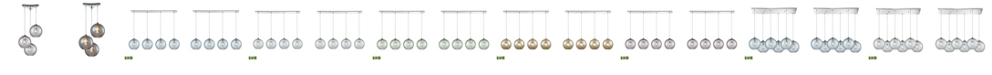 ELK Lighting 1 Light Pendant in Polished Chrome
