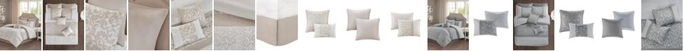JLA Home 510 Design Ramsey California King Embroidered 8 Piece Comforter Set