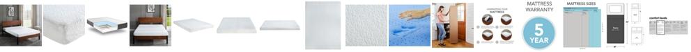"Sleep Trends Ladan 6"" Cool Gel Memory Foam Firm Tight Top Mattress- Twin, Mattress in a Box"