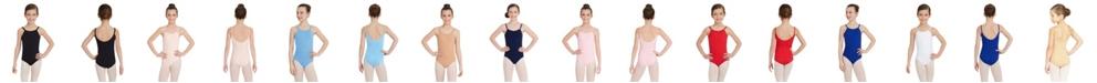Capezio Big Girls Camisole Leotard with Adjustable Straps