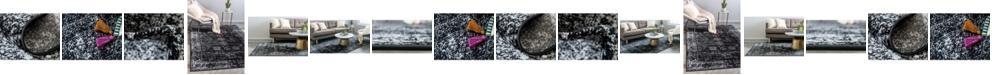 Bridgeport Home Basha Bas1 Black Area Rug Collection
