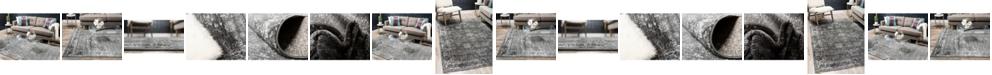 Bridgeport Home Basha Bas1 Dark Gray Area Rug Collection