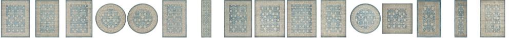 Bridgeport Home Bellmere Bel3 Light Blue Area Rug Collection