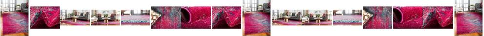 Bridgeport Home Brio Bri6 Pink Area Rug Collection