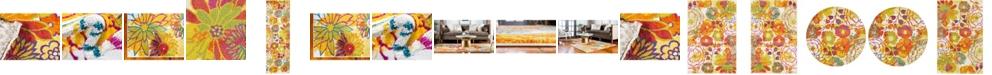 Bridgeport Home Pari Par1 Ivory Runner Area Rug Collection