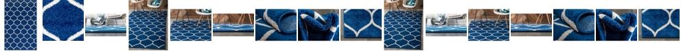 Bridgeport Home Plexity Plx2 Navy Blue Area Rug Collection